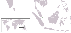 Singapur Lage Asien