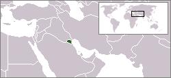 Kuwait Lage Arabien
