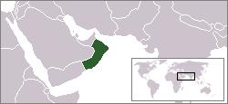 Oman Lage Arabien