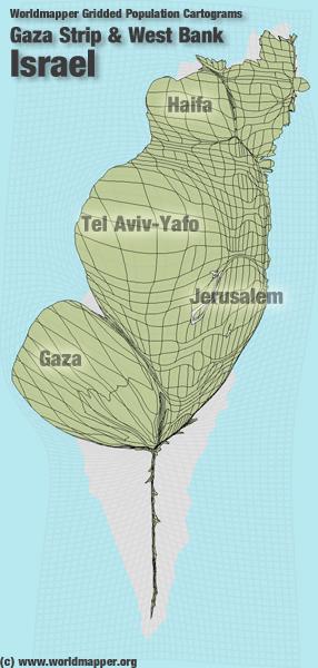 Israel Bevölkerung Verteilung