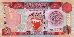 Bahrein Geld Banknoten