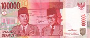 Indonesien Währung Banknoten