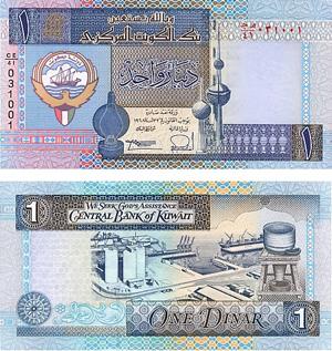 Kuwait Währung Banknoten