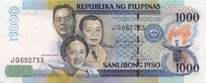 Philippinen Währung Banknoten