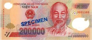 Vietnam Währung Banknoten